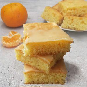 Cuadraditos de mandarina