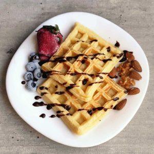 Waffles sin TACC